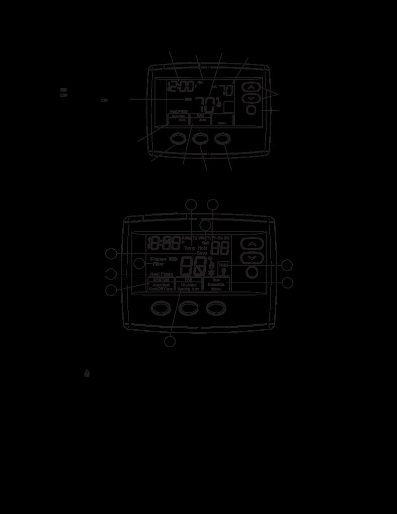 Mode D U0026 39 Emploi White Rodgers Thermostat 1f80-0471