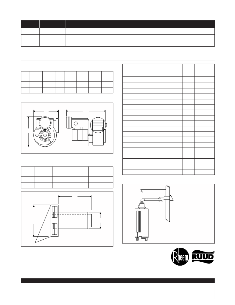 User Manual For Rheem Ruud G82-156 - A User Manual, Servicing Manual,  Settings And Specifications OfRheem Ruud G82-156 - Page 2 - User Manuals  And Advice For Your Devices - User-Manual.info