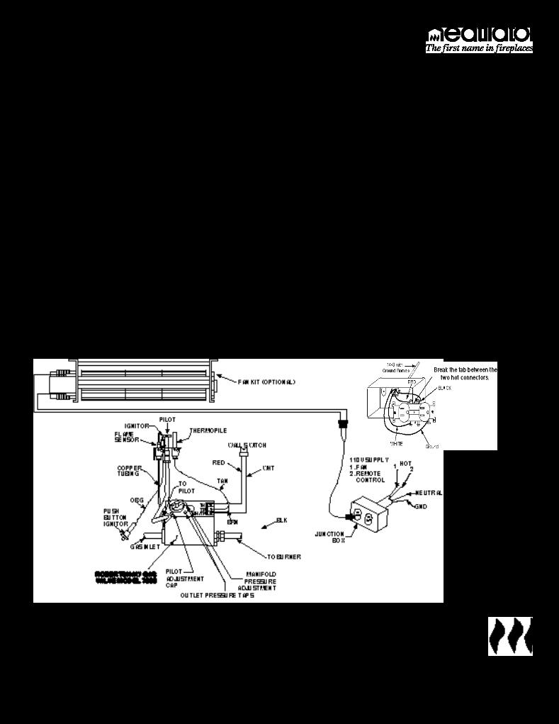 3 way toggle switch guitar wiring diagram user manual for heatiator heatilator fireplace gc150 - a user manual, servicing manual, settings ... heatilator wiring diagram #3