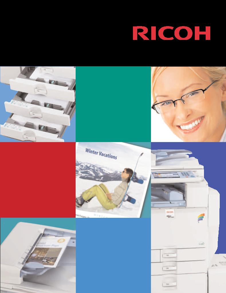 ricoh aficio mp c3300 manual