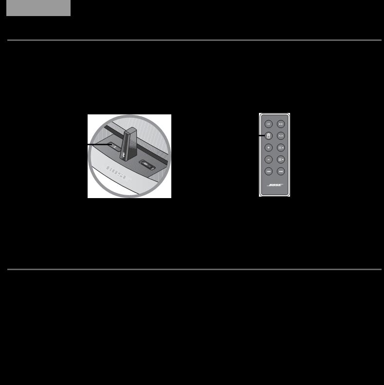 bose sounddock remote control manual
