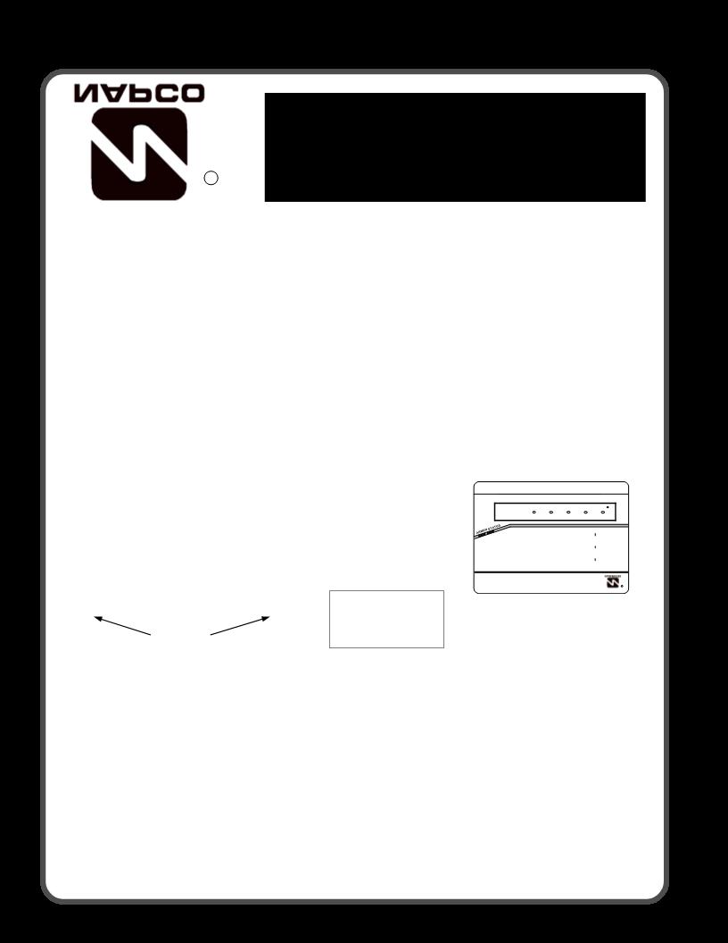 manual de uso de napco security technologies gem