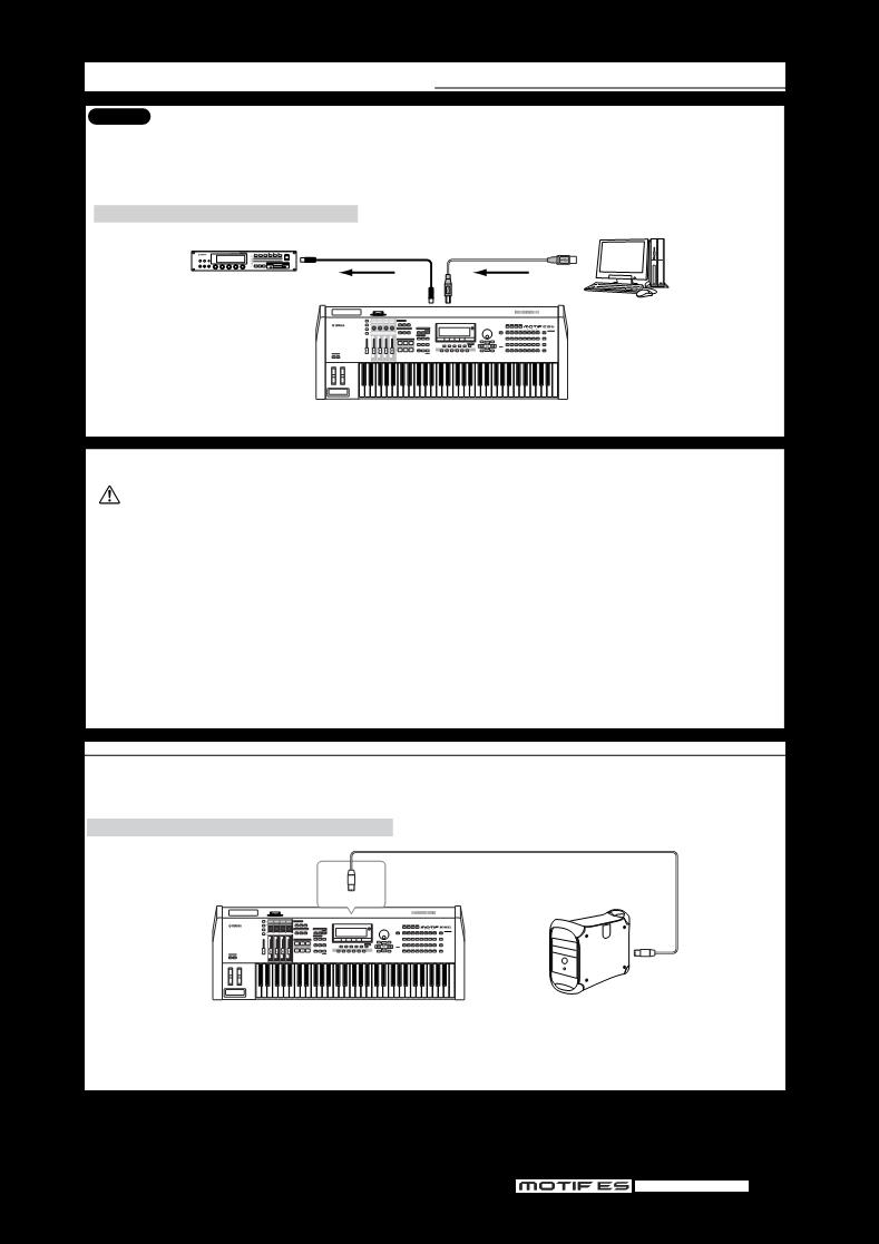 Manual de uso de Yamaha MOTIF ES8 - manual de instrucciones