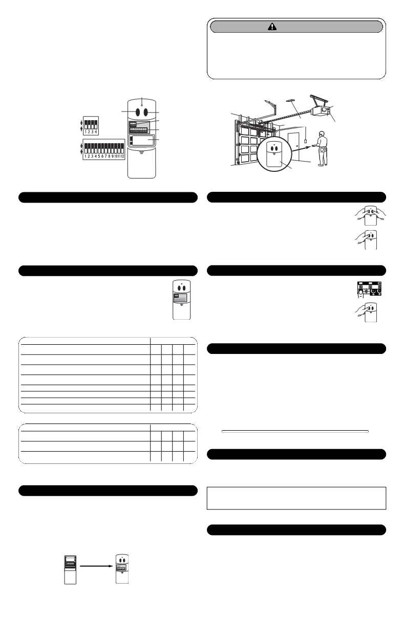 User Manual For Chamberlain Garage Door Opener Clt1d A Schematic Clicker