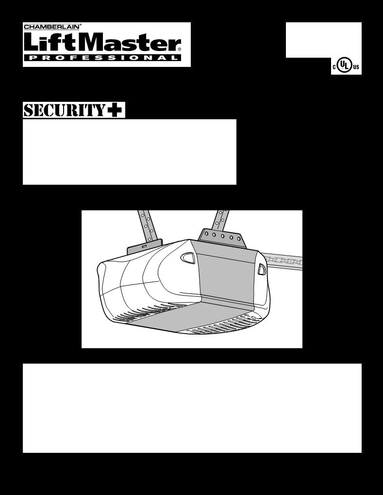 manual de uso de chamberlain liftmaster 3275-267