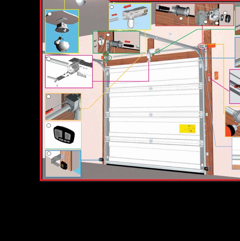 Porte de garage sectionnelle wayne dalton for Canape user manual