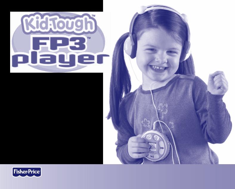 Anwendungsvorschrift Fisher-Price KID TOUGH K3420 ...