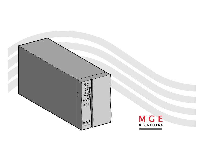 User manual for MGE UPS Systems EB 22XLA - a user manual