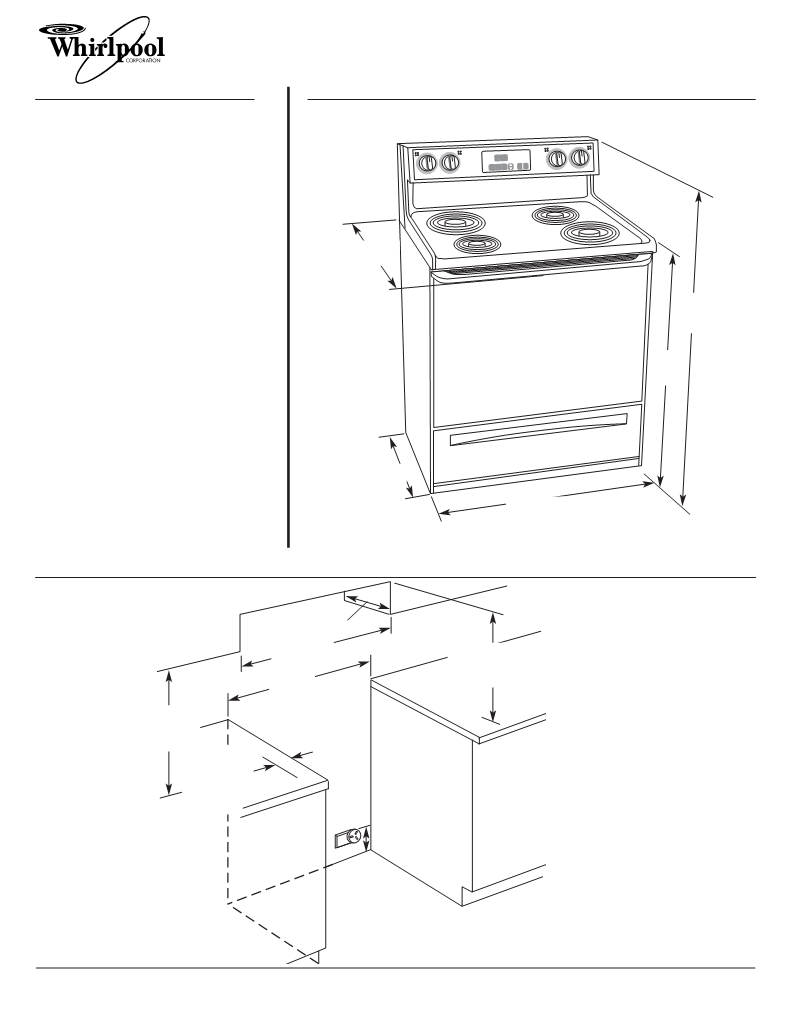 User manual for Whirlpool GR396LXG - a user manual ... on